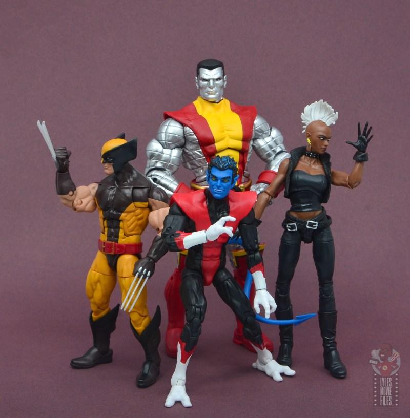 marvel legends nightcrawler figure review 80s x-men squad