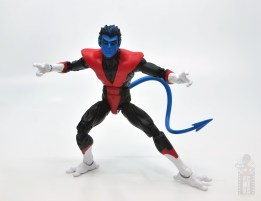 marvel legends nightcrawler figure review crouching