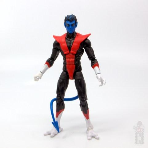 marvel legends nightcrawler figure review - front
