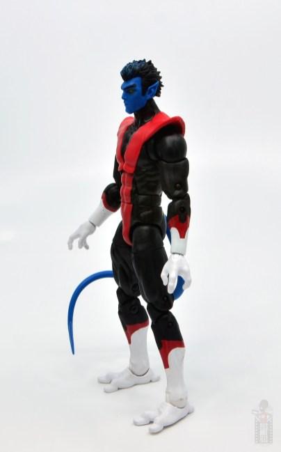 marvel legends nightcrawler figure review - left side