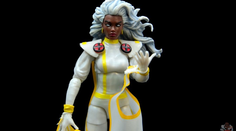 marvel legends storm figure review - main pic