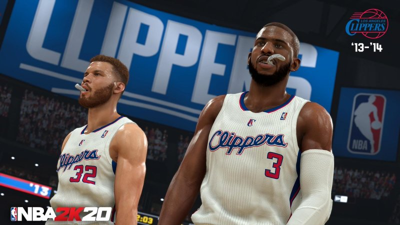 nba 2k20 classic teams - '13-14 los angeles clippers