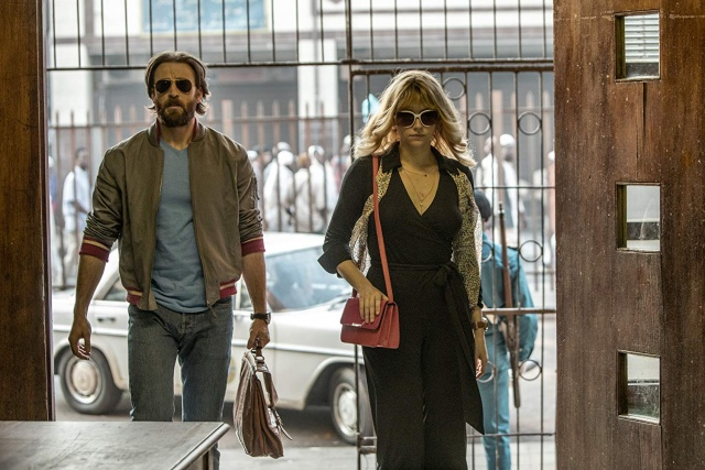 the red sea diving resort movie review - chris evans and hayley bennett