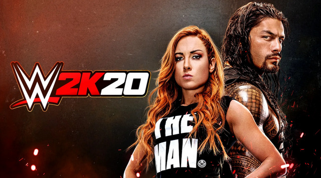wwe 2k20 becky lynch and roman reigns