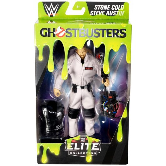 wwe ghostbusters stone cold steve austin figure - front package