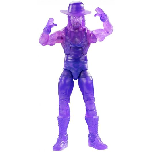 wwe ghostbusters the undertaker figure - accessories on