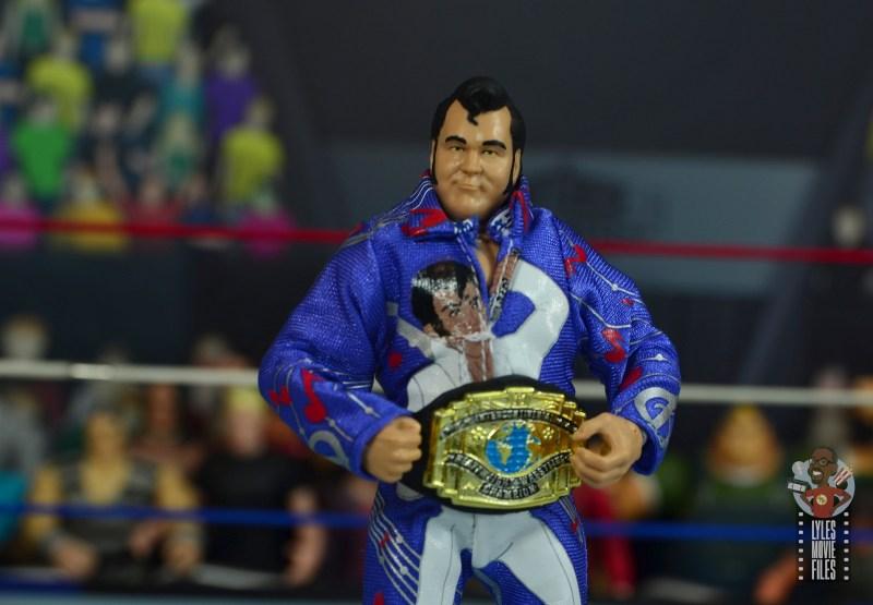 wwe retrofest honky tonk man figure review - wearing intercontinental title