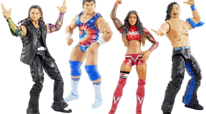 wwe survivor series elite figures - full set