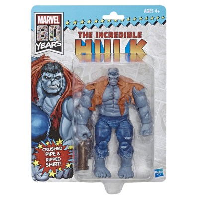 HASBRO MARVEL LEGENDS SERIES 80TH ANNIVERSARY EXCLUSIVE INCREDIBLE HULK Figure - in pck