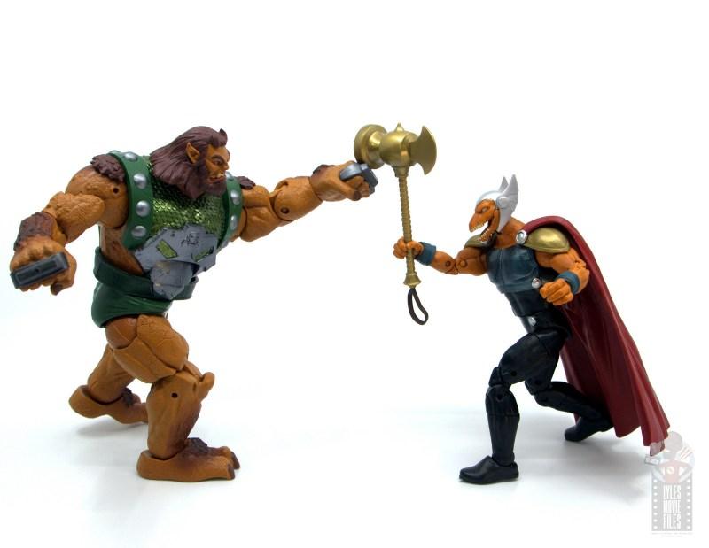 Marvel Legends Beta Ray Bill figure review - vs ulik