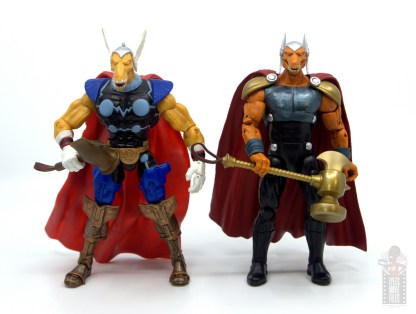 Marvel Legends Beta Ray Bill figure review - with toy biz beta ray bill