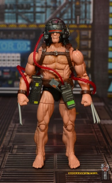 Marvel Legends Weapon X figure review -front