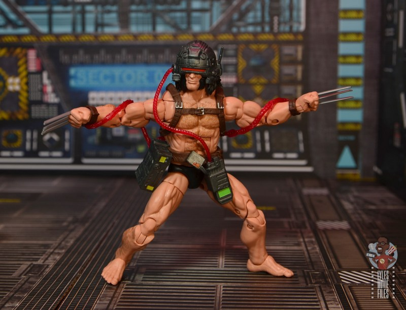 Marvel Legends Weapon X figure review - on high alert