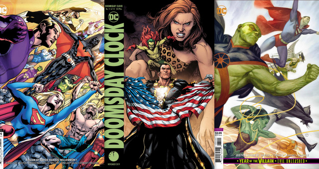 Dc Comics Reviews 9 4 19 Doomsday Clock 11 Justice League 31
