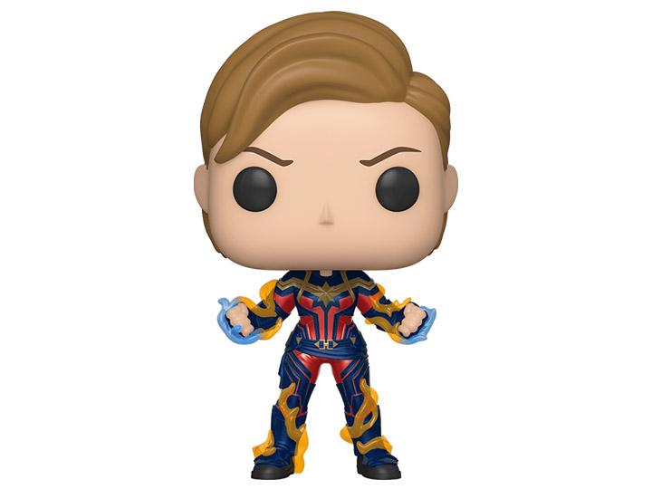 avengers endgame pop vinyl captain marvel figure