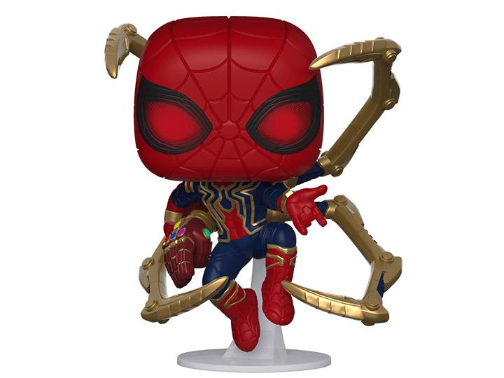 avengers endgame pop vinyl iron spider figure