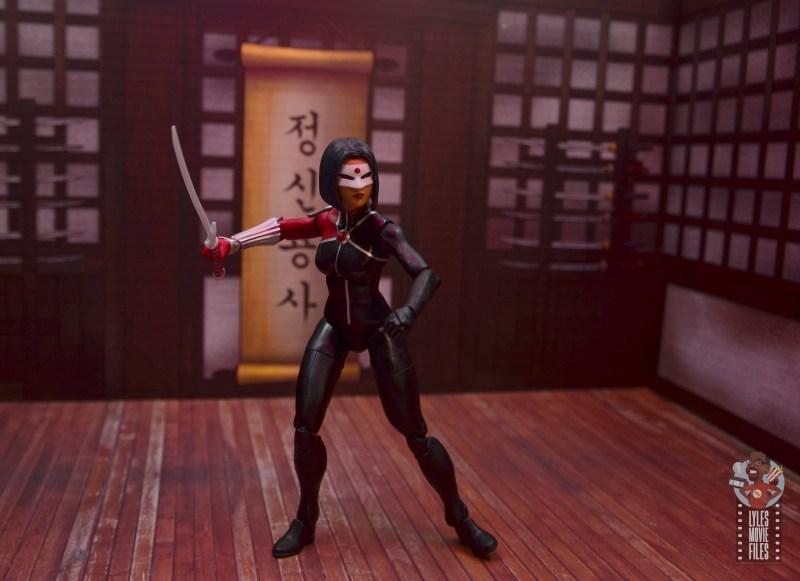 dc multiverse katana figure review - training