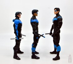 dc multiverse nightwing figure review - facing dc classics nightwing and dc essentials nightwing