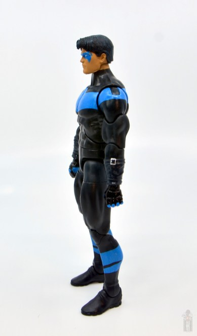 dc multiverse nightwing figure review - left side