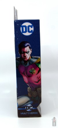dc multiverse red robin figure review - package side