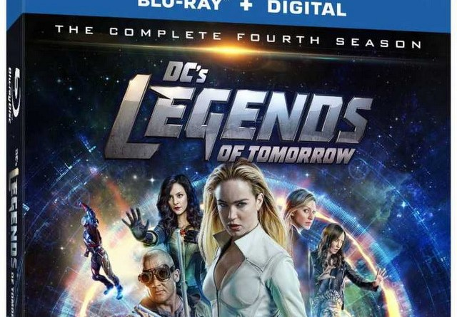 dc's legends of tomorrow season 4 blu-ray cover
