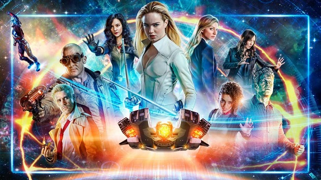 dc's legends of tomorrow season 4 blu ray