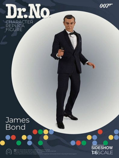 dr no james bond figure - aiming gun