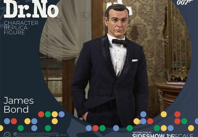 dr no james bond figure - wide shot