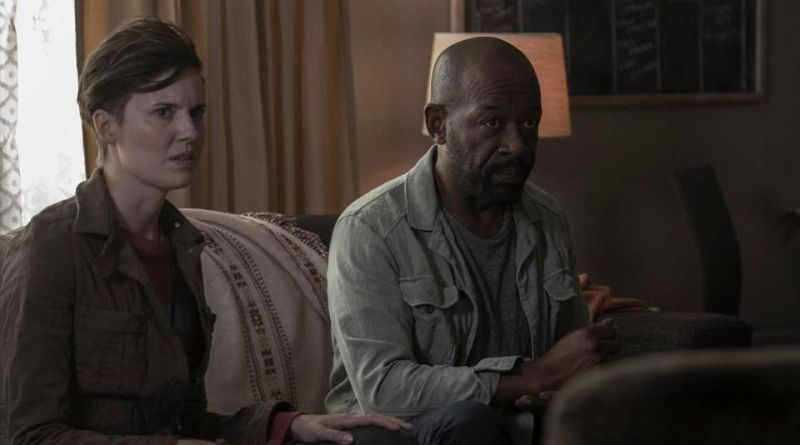 fear the walking dead - today and tomorrow review - al and morgan