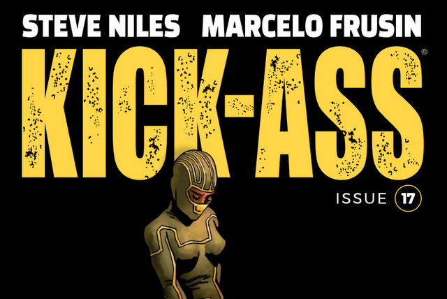 kick-ass #17 cover