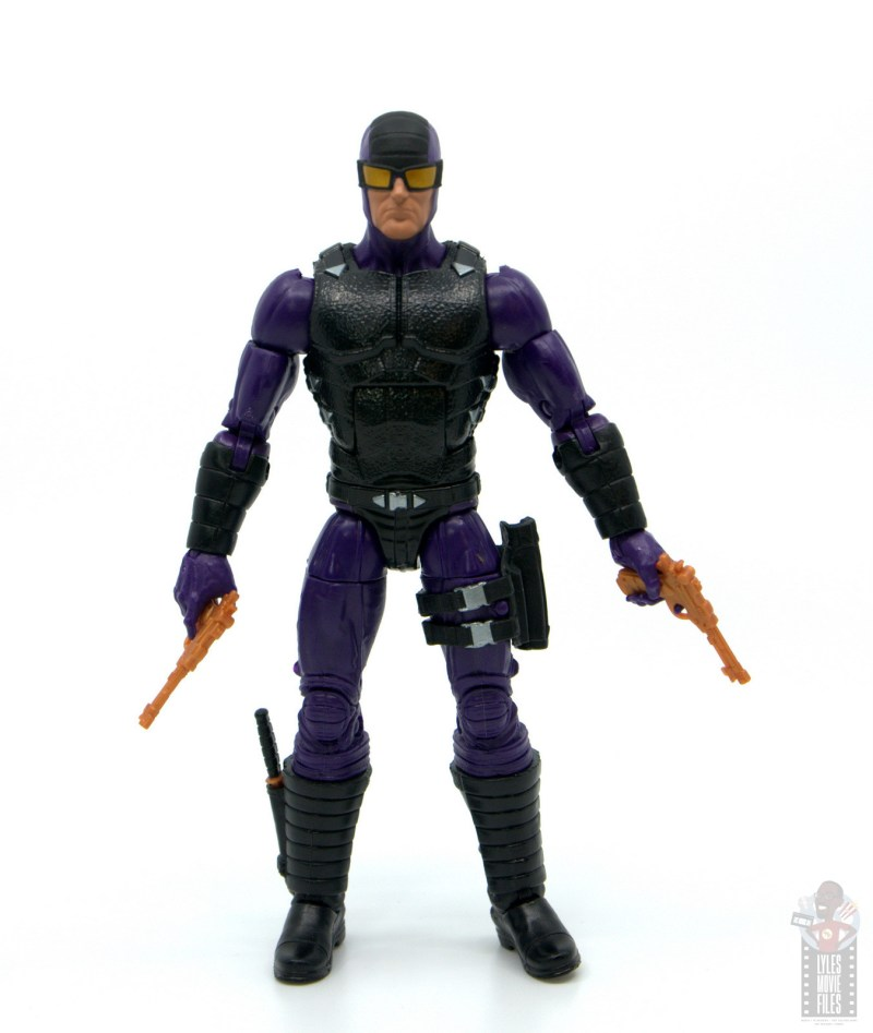 marvel legends paladin figure review - drawing guns out