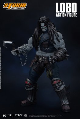 storm collectibles injustice gods among us lobo figure - chain
