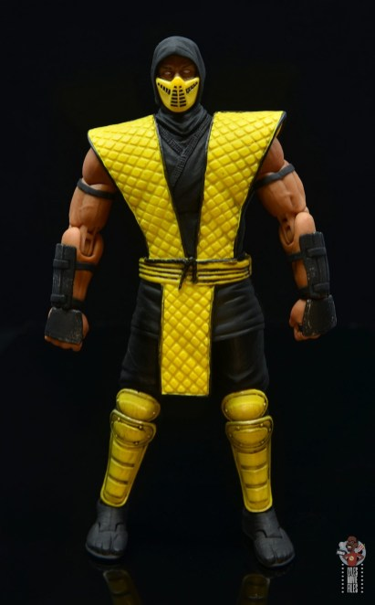 storm collectibles scorpion figure review - front