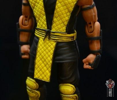 storm collectibles scorpion figure review -paint detail