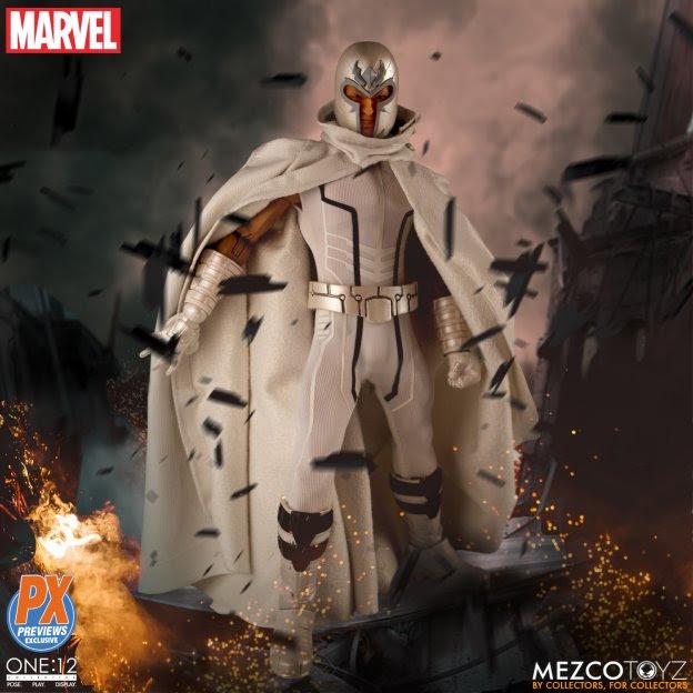 mezco toys marvel now magneto figure wide