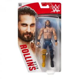 wwe basic 102 - seth rollins figure - package front