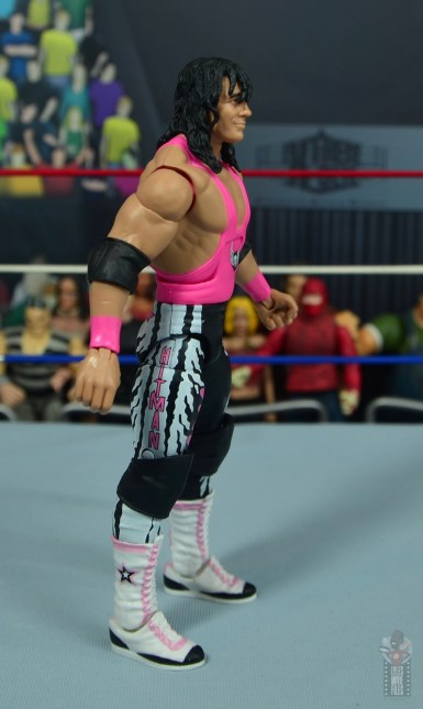 wwe bret hart king of the ring 1993 figure review - right side