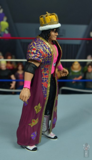 wwe bret hart king of the ring 1993 figure review - robe right side