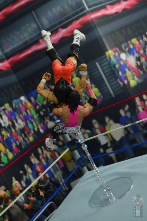 wwe bret hart king of the ring 1993 figure review - superplex to mr. perfect