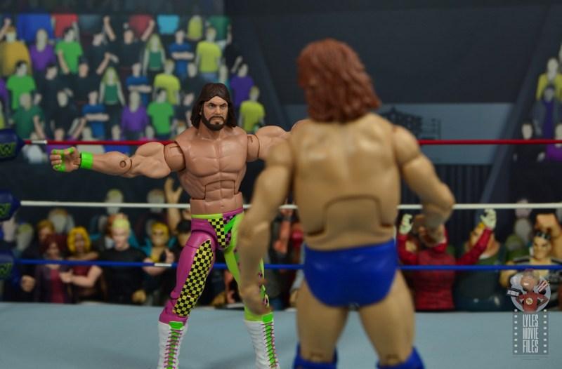 wwe elite macho king figure review - facing off with hacksaw jim duggan