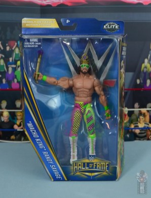 wwe elite macho king figure review - package front