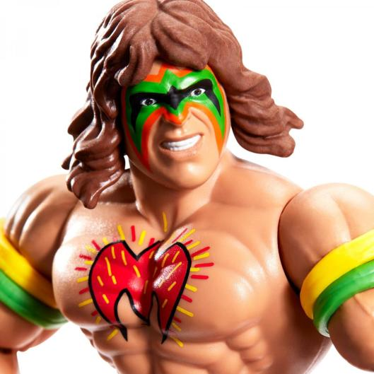 wwe masters of the universe ultimate warrior - close up