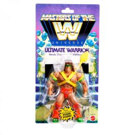 wwe masters of the universe ultimate warrior -front package