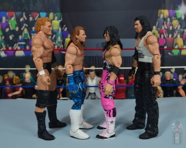 wwe network spotlight shawn michaels figure review - facing sycho sid, bret hart and diesel