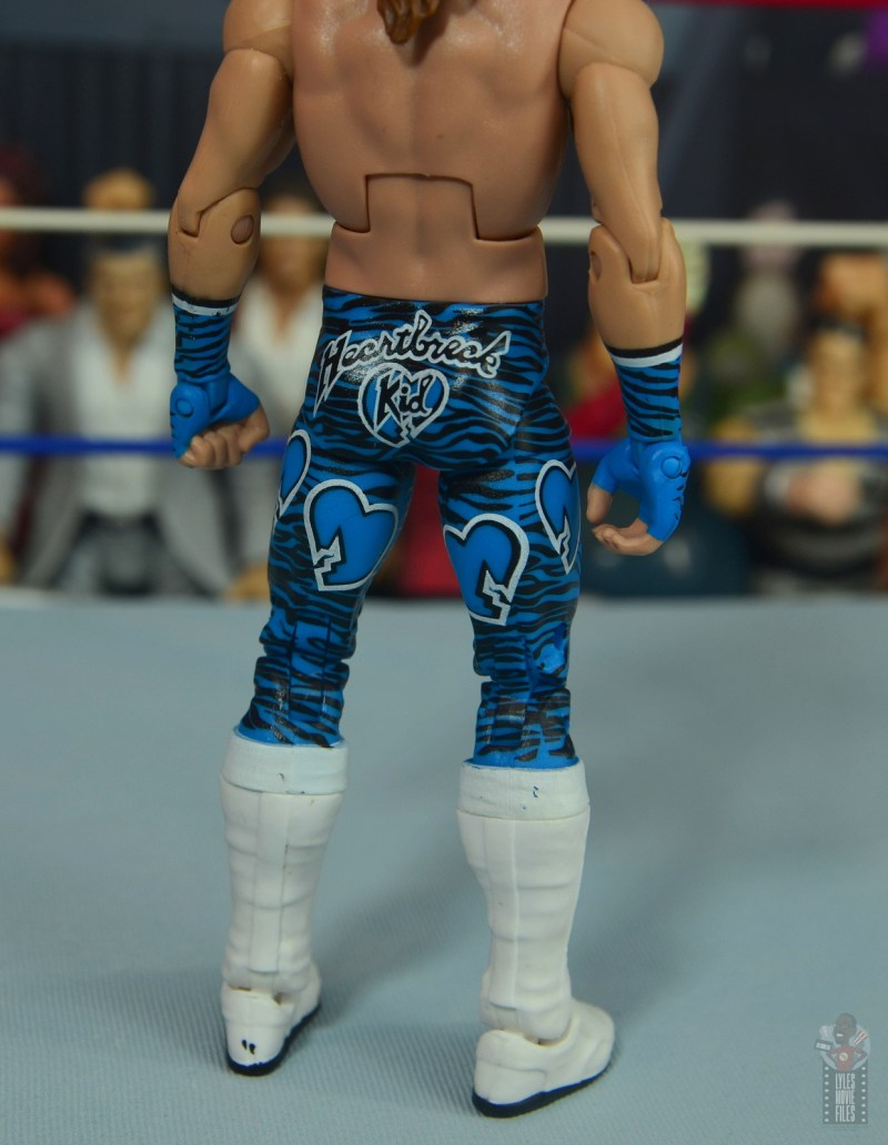 wwe network spotlight shawn michaels figure review - tight detail
