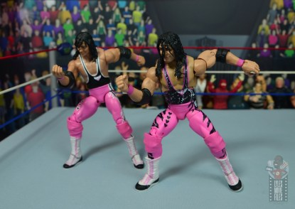 wwe ultimate edition bret hitman hart figure review - articulation difference
