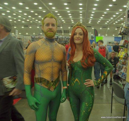 Baltimore Comic Con 2019 cosplay - aquaman and mera 2