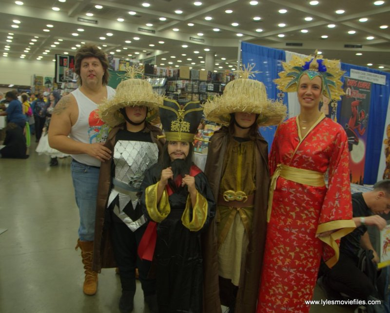 Baltimore Comic Con 2019 cosplay - big trouble in little china crew