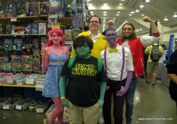 Baltimore Comic Con 2019 cosplay - group squad