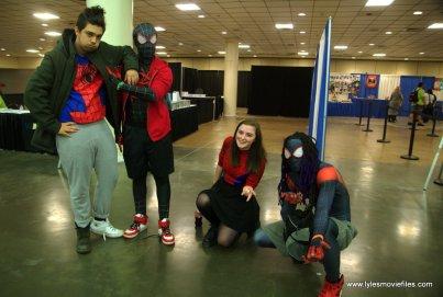 Baltimore Comic Con 2019 cosplay - into the spider-verse crew